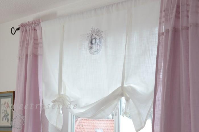 store pliss roll rideau 100x90 hope shabby chic maison de. Black Bedroom Furniture Sets. Home Design Ideas
